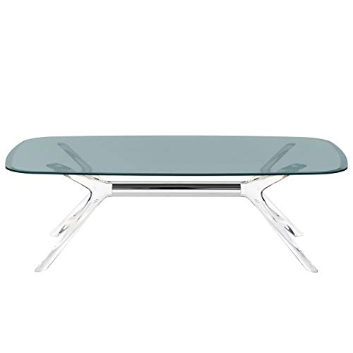 Kartell - Blast Table Basse Transparente Cristal Chromé