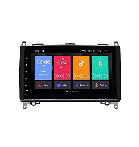 9 pulgadas Android 10.0 Car Radio GPS estéreo para Mercedes-Benz W169 A150 / A160 / A170 / A180 / A200 W245 B160 / B170 / B180 / B200 W639 Vito Viano W906 Sprinter 2500/3000 VW Crafter 2006 en adelant