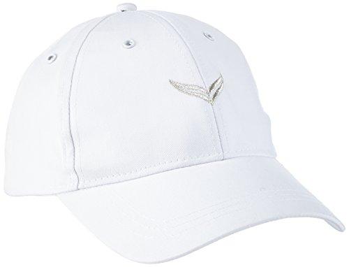 Trigema Damen 500005 Baseball Cap, Weiß (weiß 001), Large (Herstellergröße: 3)