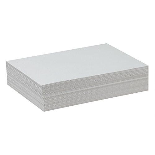 Pacon PAC4739 Drawing Paper, White, Lightweight, 9' x 12', 500 Sheets