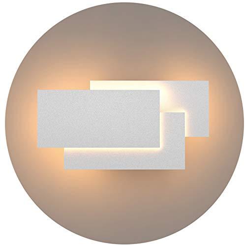 Klighten LED Wandleuchten Innen 24W Mordern Wandlampe IP 20 Wandbeleuchtung Warmweiß 2700K~3200K für Wohnzimmer Schlafzimmer Treppenhaus Flur