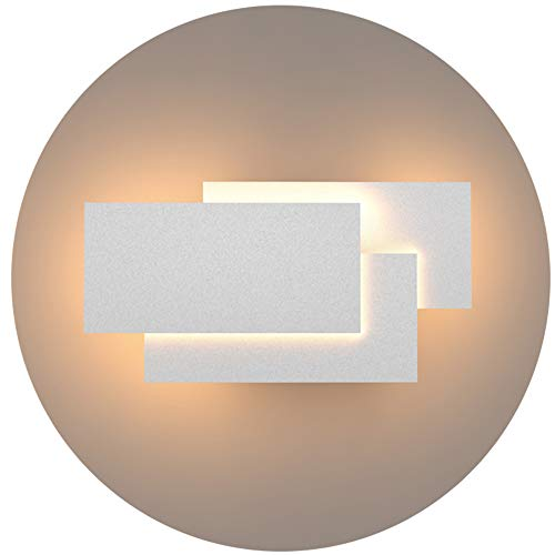 Klighten Aplique de pared Lámpara Moderno LED 24W Lámpara para Decoración del Hogar Pared Dormitorio Pasillo Entrada...