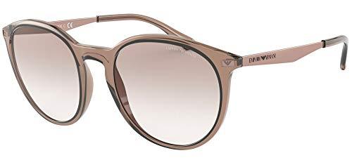 Emporio Armani Gafas de Sol EA 4148 Brown/Brown Shaded 54/20/145 mujer