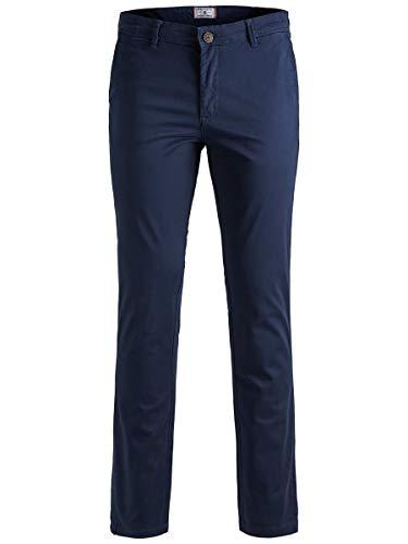 Jack & Jones Jjimarco Jjbowie Sa Noos Pantalones, Azul (Navy Blazer Navy Blazer), W32/L32 (Talla Del Fabricante: 32) Para Hombre