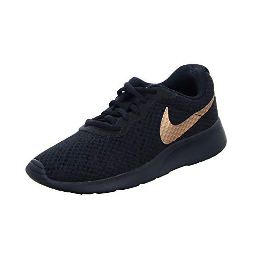 Nike Damen Wmns Tanjun Gymnastikschuhe, Schwarz (Black/Mtlc Red Bronze 005), 36.5 EU
