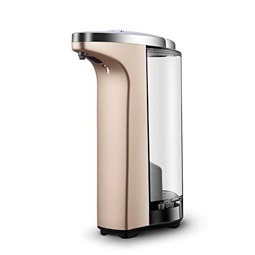 Seifenspender WFF Automatische berührungsloser Infrarot-Sensor und wasserdichte Basis, Küche Badezimmer (Color : Tyrant Gold)