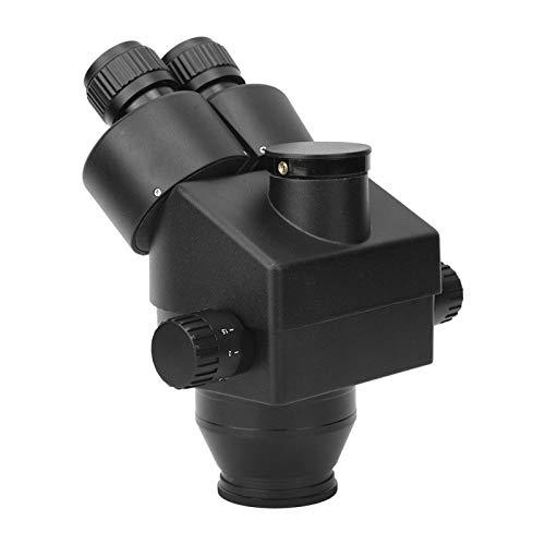 Okuyonic 7-45X Industrielles langlebiges Stereomikroskop Aluminiumlegierung Hohe Genauigkeit für die Textilanalyse zur Wartung elektronischer Schaltkreise