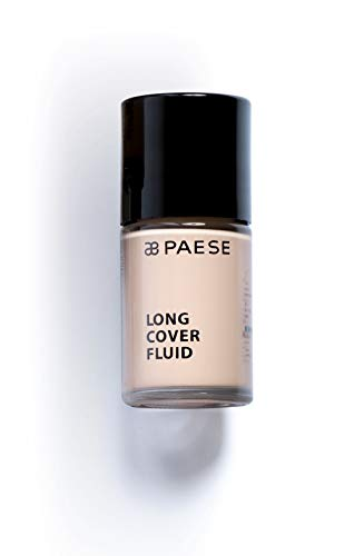 Paese Cosmetics 01 Light Beige Long Cover Fluid Foundation, 30ml