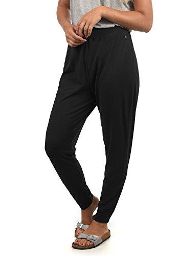 BlendShe Harisa Damen Haremshose Pumphose Pluderhose, Größe:M, Farbe:Black (20100)