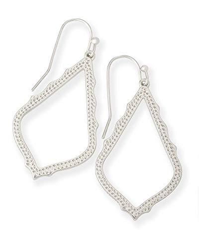 Kendra Scott Sophia Drop Earrings for Women, Dainty Fashion Jewelry, Rhodium-Plated