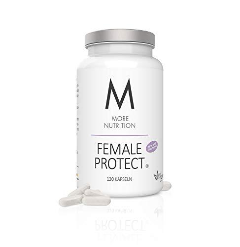 MORE NUTRITION Female Protect v2.0 (1 x 120 Kapseln) - Frauen-Vitamine mit Eisen, Folsäure Mineralstoffe Vegane Mineralien (verbesserte Formel)