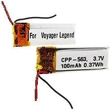 Synergy Digital Wireless Headset Battery, Works with Plantronics LEGEND VOYAGER Wireless Headset, (Li-Pol, 3.7V, 100 mAh) Ultra Hi-Capacity Battery