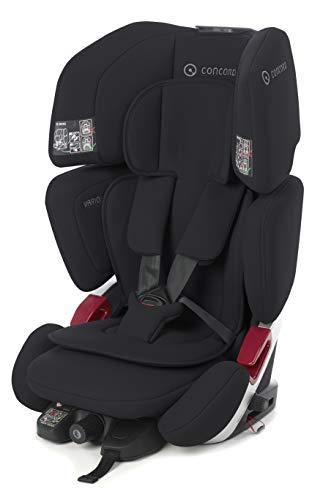 Concord Vario XT-5 Kindersitz Gruppe 1 2 3, von 9 bis 36 kg, von 1 bis 12 Jahre, Isofix und Top Tether, Farbe Schwarz (SOFT BLACK)
