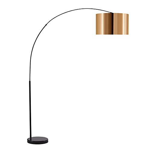 Versanora lámpara de piso, Dorado/Negro