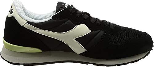Diadora 501.159886, Scarpe col tacco punta chiusa Unisex - Adulto, Nero (Black/Whisper White), 5.5 M US Women / 4 M US Men