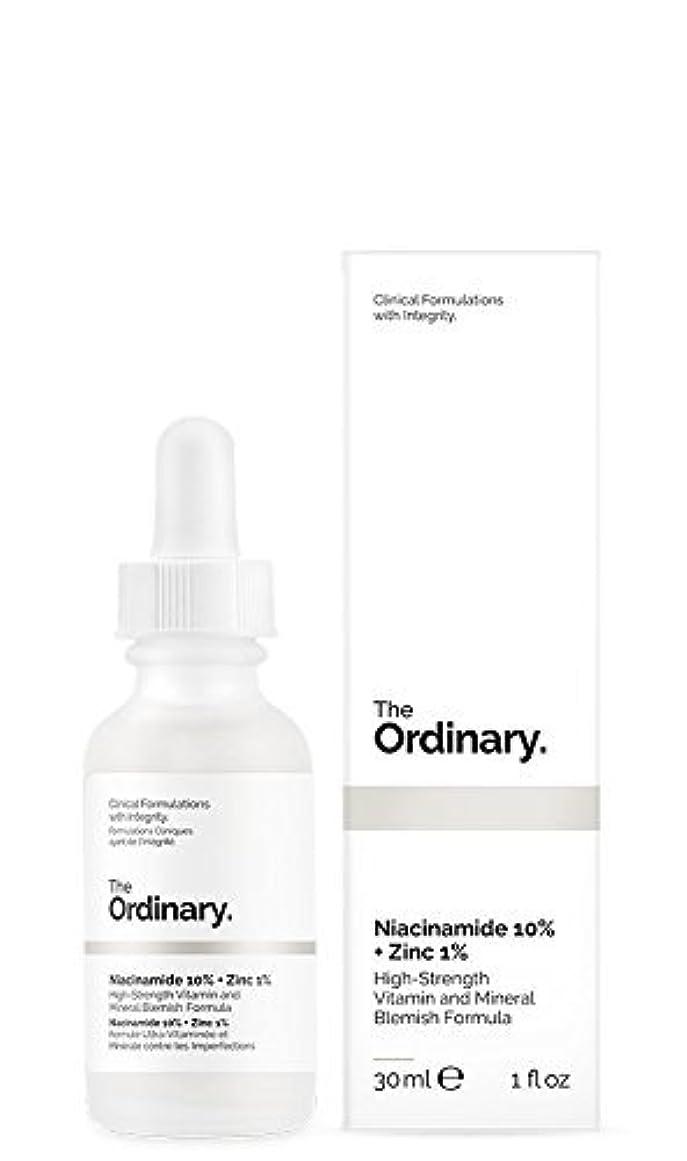 小切手マニアックリングバックThe Ordinary Niacinamide 10% + Zinc 1% 30ml