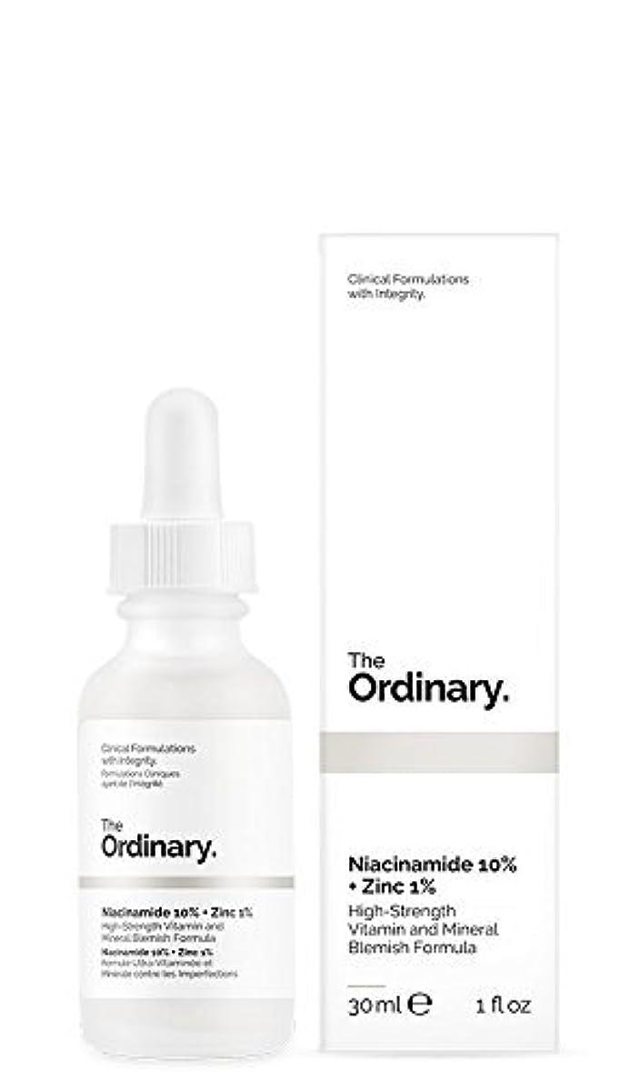 先行する光スノーケルThe Ordinary Niacinamide 10% + Zinc 1% 30ml