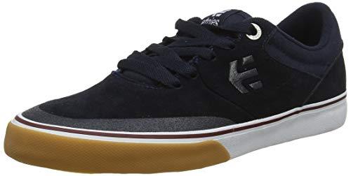 Etnies Marana Vulc, Scarpe da Skateboard Unisex-Adulto, Blu (467-Navy/Tan/White 467), 41 EU