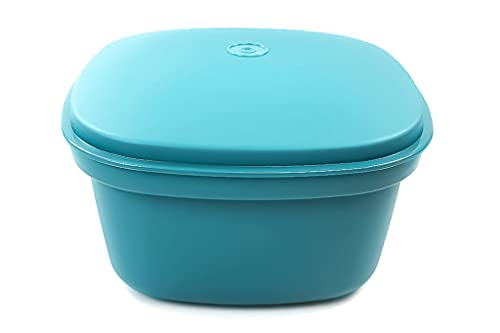 Tupperware Thermo-Duo Siebservierer 3,0 L dunkelgrün Warmhalten Warmie Tups