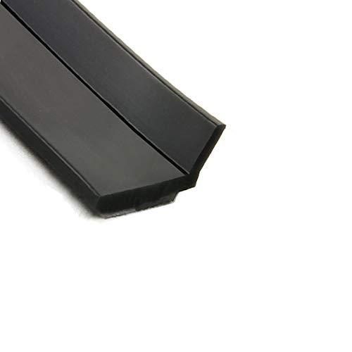 優れた耐久性 高品質のシリコーンゴム素材 窓ゴムパッキン 隙間パッキン 防音パッキン 引き戸 扉 玄関用すきまテープ 虫塵すき間侵入防止シールテープ 全長は約6Mです 10mmx1mm-黒