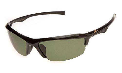 偏光 サングラス AXE(アックス)ASP-5568 GM ガンメタリック 釣り 運転 サイクリング 登山 スポーツ グリーン イエロー 2色の偏光レンズ交換モデル