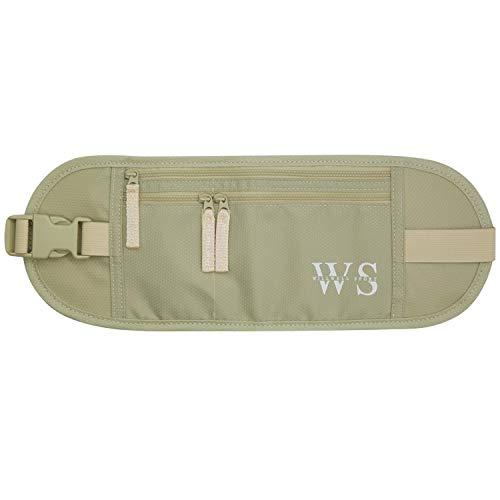 Dinero cinturón viajar oculto seguridad bolsa bolsa