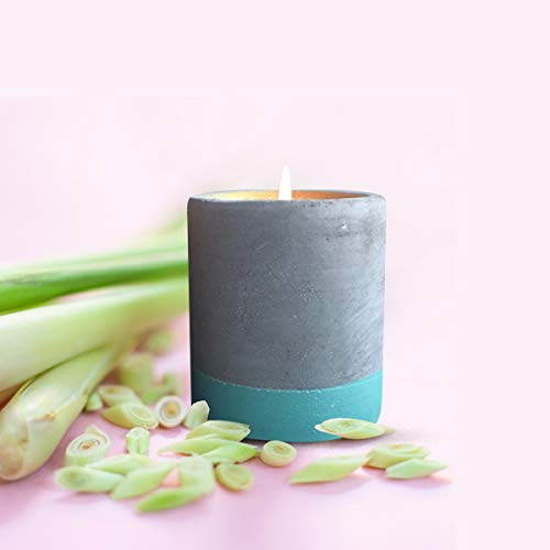 Aroma Serene Scented Candle – Soy Wax Large Scented Candles with Essential Oil – Natural Aromatherapy Candle for Relaxation and Serenity – 30 h Burn Time – Carton Box (Lemongrass and Green Tea)