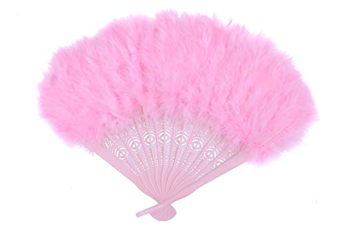 small feather fans - 5