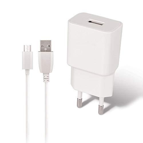 MaxLife - Chargeur USB 1A & Câble pour XIAOMI Redmi 9C - Redmi 9A - Redmi 7A - Redmi Go - Redmi 7 - REDMi Note 6 Pro - REDMi 6 - Mi A2 Lite/Redmi 6 Pro - REDMi Note 5 - REDMi Note 4 - REDMi 4X