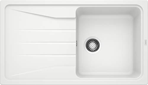 Blanco Sona 6S, cocina fregadero, SILGRANIT Puradur, antracita, reversible, 519674
