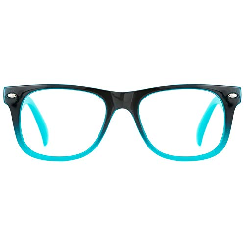 TIJN Blue Light Glasses for Kids Cute Eyewear Computer/Gaming/Reading Safety Blue Light Blocking Glasses Girls Boys