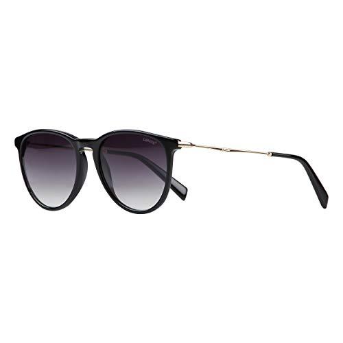 LEVI'S EYEWEAR Damen LV 5007/S Sonnenbrille, Black, 54