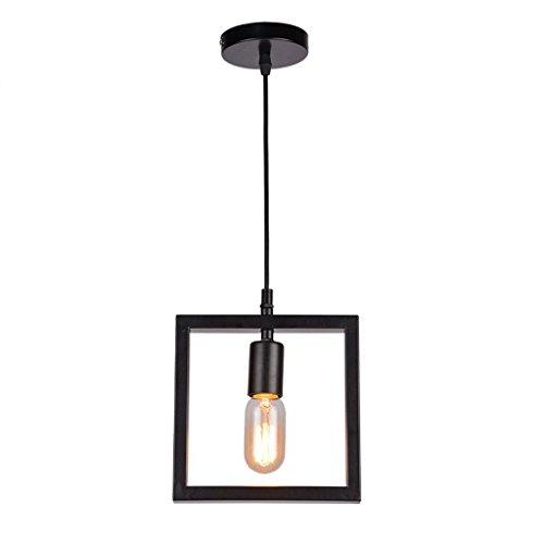 Restaurant lustre moderne minimaliste table à manger lampe Creative personnalité atmosphérique salle à manger lampe suspension ligne éclairage Rollsnownow (Couleur : NOIR, taille : A)
