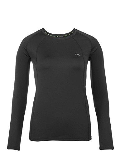 Jeff Green T-Shirt Technique Femmes Manches Longues Respirant Ally, Taille - Femmes:38, Couleur:Black