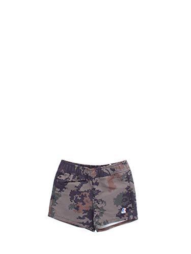 K-Way Olivier Graphic Pantaloncini da Mare, Multicolore (Dark Camouflage 909), 116 (Taglia Unica: 6Y) Bambino