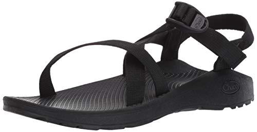 Chaco Women's Zcloud Sport Sandal, Solid Black, 7 W US
