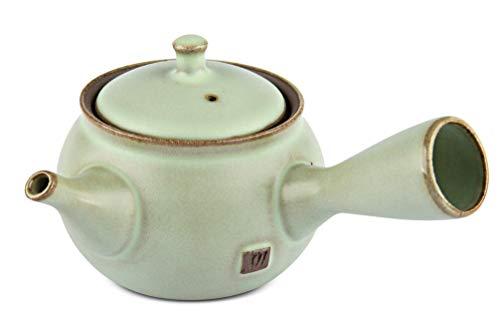 Maoci Teekanne Kyusu pastellgrün 250ml / Einhandkanne/Seitenhandkanne