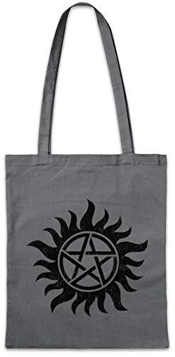 Urban Backwoods Anti Possession Symbol Hipster Bag Beutel Stofftasche Einkaufstasche