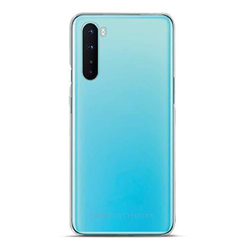 Case FortyFour No.1 para OnePlus Nord - Funda delgada y ligera para teléfono - transparente