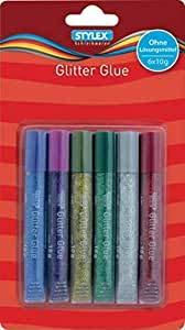 Stylex Glitter Glue 3D (1, 6er Glitter Glue)