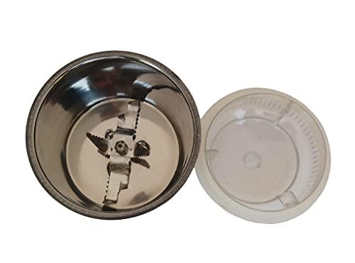 "AtLoGs Chutney jar for""SUMEET/GANGA/Prestige/PREETHI/Murphy Richards/Orient"" (400ml, Steel)"