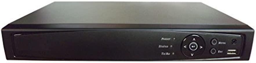 101AV 8CH Surveillance Digital Video Recorder HD-TVI/AHD H264 Full-HD DVR 1TB HDD HDMI/VGA/BNC Video Output Cell Phone APPs for Home & Office Work @1080P/720P TVI, 1080P AHD, Standard Analog& IP Cam
