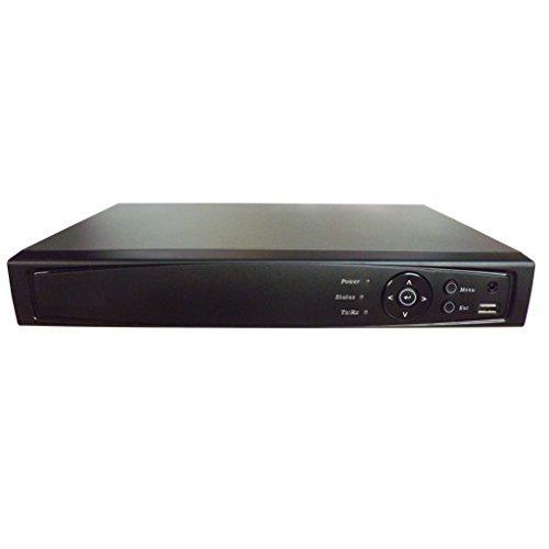 101AV 16CH Surveillance Digital Video Recorder HD-TVI/AHD Full-HD DVR HDMI/VGA/BNC Video Output Cell Phone APPs for Home & Office @1080P/720P TVI, 1080P AHD, Standard Analog& IP Cam (with 2TB HDD)