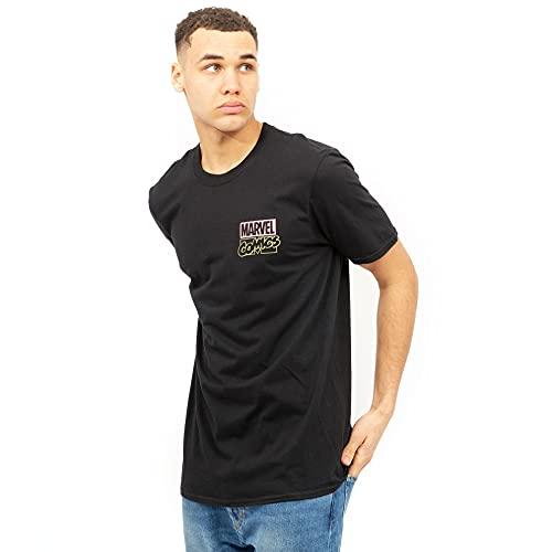 Marvel Blade Scream Camiseta, Negro, S para Hombre