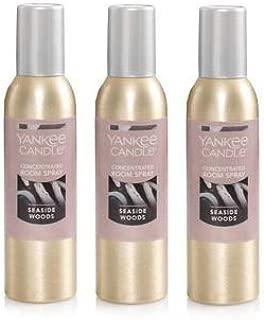 Yankee Candle 3 Pack Seaside Woods Room Spray 1.5 Oz