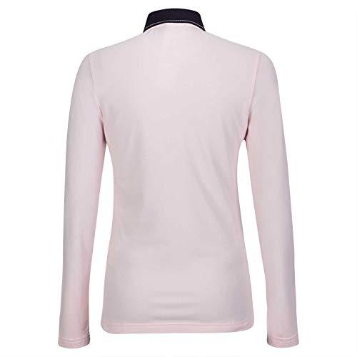 GOLFINO Silver Touch UV Polo Damen rosa 36