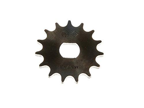 FEZ Ritzel, kleines Kettenrad 15 Zahn - für Simson S51, S53, S70, S83, KR51/2 Schwalbe, SR50, SR80