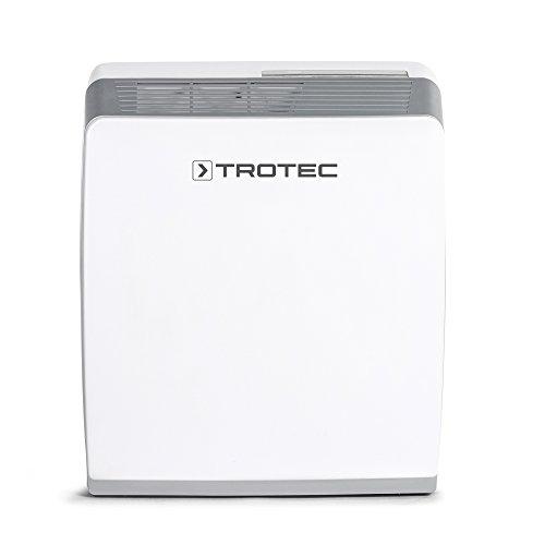 TROTEC Deshumidificador por Adsorción TTK 56 E / 9L / Pantalla LED / Auto-Apagado / 780 W / Descongelación Automática Electrónica / Para Habitaciones de 20m² / 50m³ / Silencioso / Entornos fríos / Desagüe 3,5 L