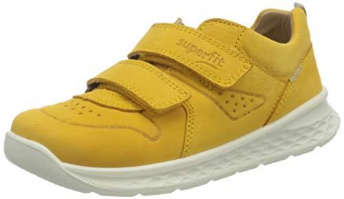 Superfit Breeze Sneaker, GELB/Weiss, 28 EU