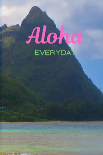 """Aloha Everyday Journal: 6""""x 9"""" 100 pages with mandala motif for journaling, creative writing, ideas,"""